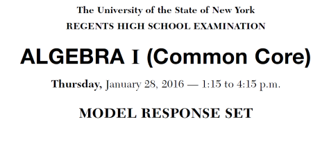 Model Response Set