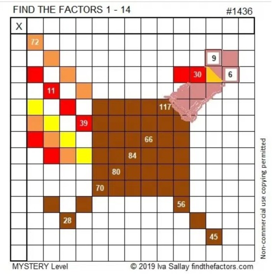 Find the Factors 1436