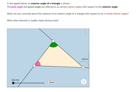 Geogebra Ext Angle ThmTriangle